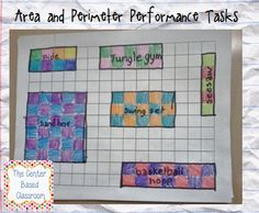 Area and Perimeter Performance Tasks