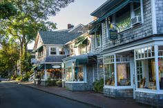 Edgartown, Massachusetts This village has loads of New England charm — fitting for its Martha's Vineyard locale. The Places Youll Go, Places To Go, Small Town America, America America, North America, Beach Town, South Beach, To Infinity And Beyond, Road Trip