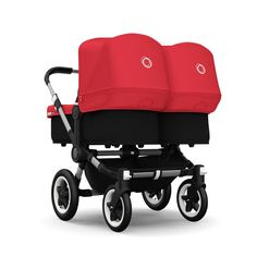 With the Bugaboo Donkey Twin going out with twins has never been easier. Buy your Bugaboo Donkey Stroller v1.1 Twin in Alu
