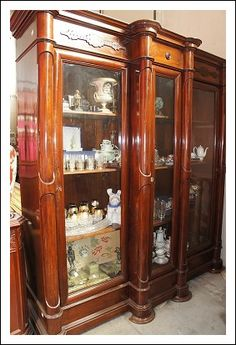 Libreria cristalliera napoletana Antiquariato su Arsantik
