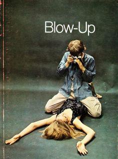 David Hemmings and Veruschka in Blow-Up (1966)