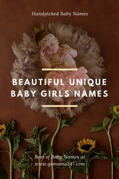Unique Indian Baby Girls Names. Handpicked trendy Sanskrit Baby Names. #babynames