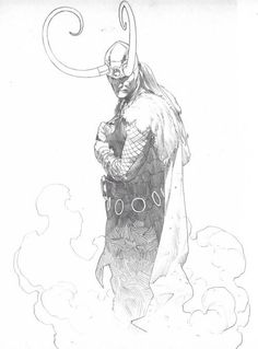Loki - commissioned PinUps and Sketches by Esad Ribic. Ungoliantschilde