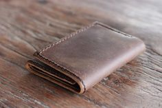 eddie Customers request them, and we make them.    Introducing the new, JooJoobs Mens Leather Trifold Wallet. Made for those that like to carry lots and lots