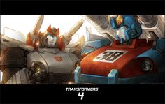 Bluestreak & Smokescreen