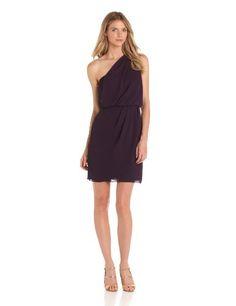Apparel: Rebecca Taylor Women's One Shoulder Dress