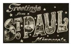 St. Paul poster. - justintrails.com