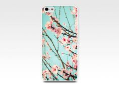floral iphone case iphone 4 4s 5 case blossom by mylittlepixels