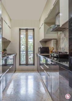 Home Interior Ideas That Blend Ethnic & Modern Styles Kitchen Cupboard Designs, Kitchen Room Design, Home Room Design, Modern Kitchen Design, Home Decor Kitchen, Interior Design Kitchen, Kitchen Ideas, Small Modern Kitchens, Beautiful Kitchens