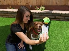 A selfie accessory for your dog!