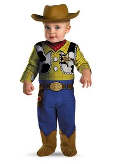 Toddlers Woody Toy Story Costumes. Here is a classic costume idea for boys  who love c3edf8a03463e