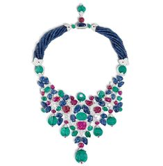 Cartier's historical tutti-frutti necklace.  DYING for this.  Have been for years.