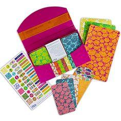 Ohm Modern Correspondence Kit is chock full of luscious paper treats $18.00