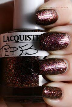 Lacquistry Tepes #nailpolish #glitter #beauty