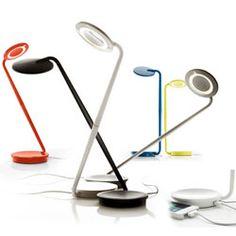 Pixo - LED Desk/Table Lamp + USB Charger | Pablo http://www.lightkulture.com/p-1313-pixo-led-desktable-lamp-usb-charger-pablo.aspx