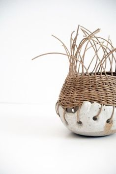 snowy baixa // gallery of pottery/basketry by tracy wilkinson