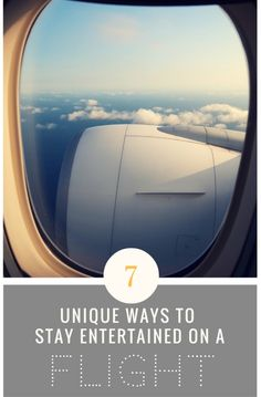 Traveling doesn't have to be downtime, but long travel days can be excruciating without some entertainment. I've learned a ton of skills and found a lot of ways to stay busy on planes, trains, and automobiles around the world. Got a flight coming up? Check out these seven unique ways to stay entertained on a flight!
