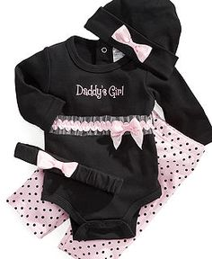 #Baby Clothes at #Macy's - #Newborn #daddy's girl clothing#cute