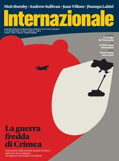 The War of Crimea - Cover illustration by Noma Bar for Internazionale Magazine