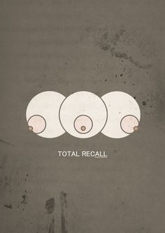 Total Recall (1990/2012) - Minimal Movie Poster by Yannis Naamane #minimalmovieposters #alternativemovieposters #yannisnaamane