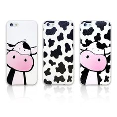 CUTE CARTOON COW PRINT MOBILE PHONE CASE COVER FOR IPHONE SAMSUNG HTC SONY