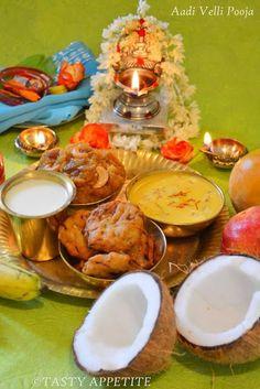 Tasty Appetite: Happy Aadi Velli Celebrations to Everyone . Ganesh Pooja, Engagement Mehndi Designs, Janmashtami Decoration, Silver Pooja Items, Pooja Room Design, Rangoli Designs Diwali, Pooja Rooms, Durga Goddess, India Food