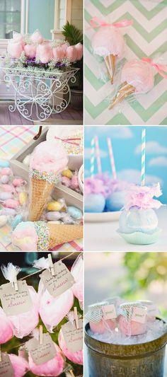22 Fun and Creative Ways to Plan a Cotton Candy Wedding!