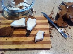 Healthy Thermomix Recipes: How to make coconut water and coconut milk