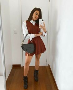 Business Casual Outfits, Professional Outfits, Cute Casual Outfits, Stylish Outfits, Basic Outfits, Teen Fashion Outfits, Fall Outfits, Mode Instagram, Mode Kawaii