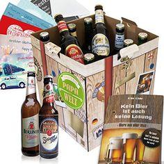 """Das Biergeschenk """"Bester Papa der Welt"""" ist ein leckeres, originelles Geschenk für deinen Vater. Mache deinem Papa eine Freude zum Geburtstag etc."""