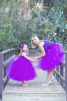 Mommy and Me Matching Tutu Set  Any Color Adult by PiaMiaBoutique