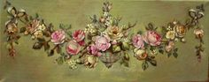 French aubusson style ornament by Helen Flont