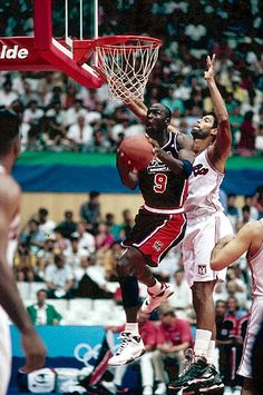 Michael Jordan and the Dream Team won by an average of 43.8 points at the 1992 Games.