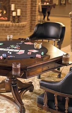 Our Burbank Game Room Furniture features unbeatable versatility and value.