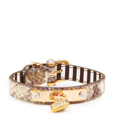 Henri Bendel Pyramid Charm Bracelet