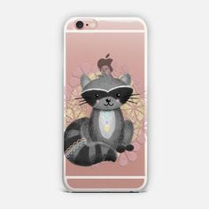 Cute Little Raccoon Phone Case, Woodland Animals, iPhone Covers, Cool Phone Cases, Samsung Phone Cases, Best Cell Phone Cases