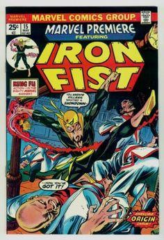 Marvel Premiere # 15 1st Iron Fist