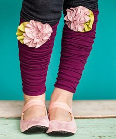 Love this Pink & Ivory Sweet Sugar Leg Warmers by Snugars on #zulily! #zulilyfinds