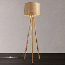 Dylan Ash Wooden Floor Lamp Base Future Home Pinterest