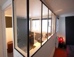 verrière entre chbre parens et sdb Furniture, Home, Comfy Bedroom, Deco, Kitchen, Inside, Room Divider, Bedroom, Comfy