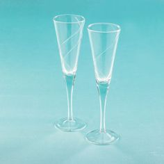 Spiral Toasting Glasses