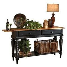 Wilshire Console Table In Black