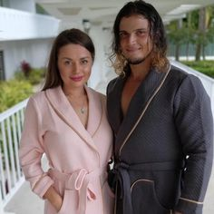 Matching collar bathrobes for couples - bridesmaid's world– Bridesmaid's World Matching Couple Gifts, Matching Couples, Girls Dresses, Flower Girl Dresses, Just Because Gifts, Newlywed Gifts, Silk Pajamas, Perfect Couple, Personalized Wedding Gifts