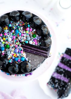 Glam Rock Layer Cake by Sweetapolita Chocolate Butter Cake, Chocolate Flavors, Glam Rock, Beautiful Cakes, Amazing Cakes, Fudge Frosting, Cupcake Cakes, Cupcakes, Best Cake Recipes