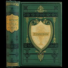 1879 ALFRED TENNYSON POEMS RARE ILLUSTRATED VICTORIAN FINE BINDING ENGRAVINGS CLASSIC POETRY