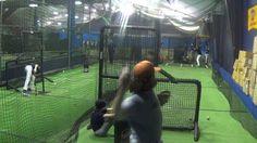 13/14U Winter Training Program Live BP; February 2014 #baseballtraining