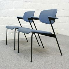 Lounge Chair by Willy van der Meeren for Tubax