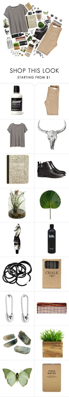 """""""Wonderful"""" by l8rlosers ❤ liked on Polyvore featuring AG Adriano Goldschmied, H&M, Aesop, Jayson Home, Disney Couture, Mason Pearson, Polaroid and Rock 'N Rose"""