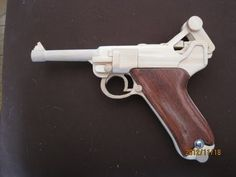 BLOW⇔BACK RUBBER BAND GUN 03.0 LUGER P08 4inch - YouTube