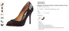 Clothing, Furniture and Accessories: Badgley Mischka Women's